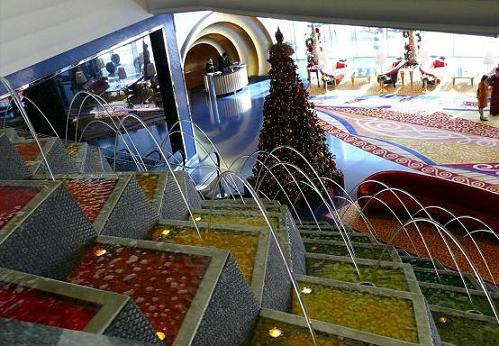 The Foyer Of The Burj Al Arab.