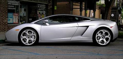 Lambourghini, prestige sports car.