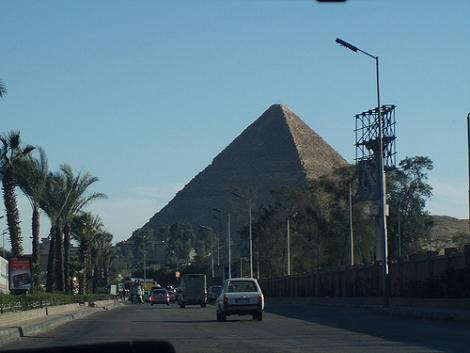 The Pyramids, Located Just Off The High Street.
